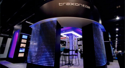 Traxon Trade show Booth