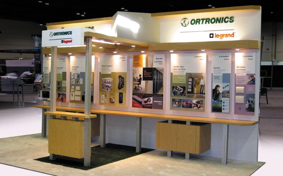 10x20 Trade Show Exhibit | Ortronics