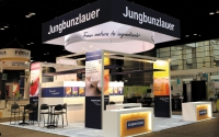 20x20 Trade Show Booth | Jungbunzlauer