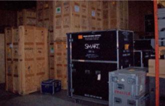 Exhibit Refurbishment and Storage
