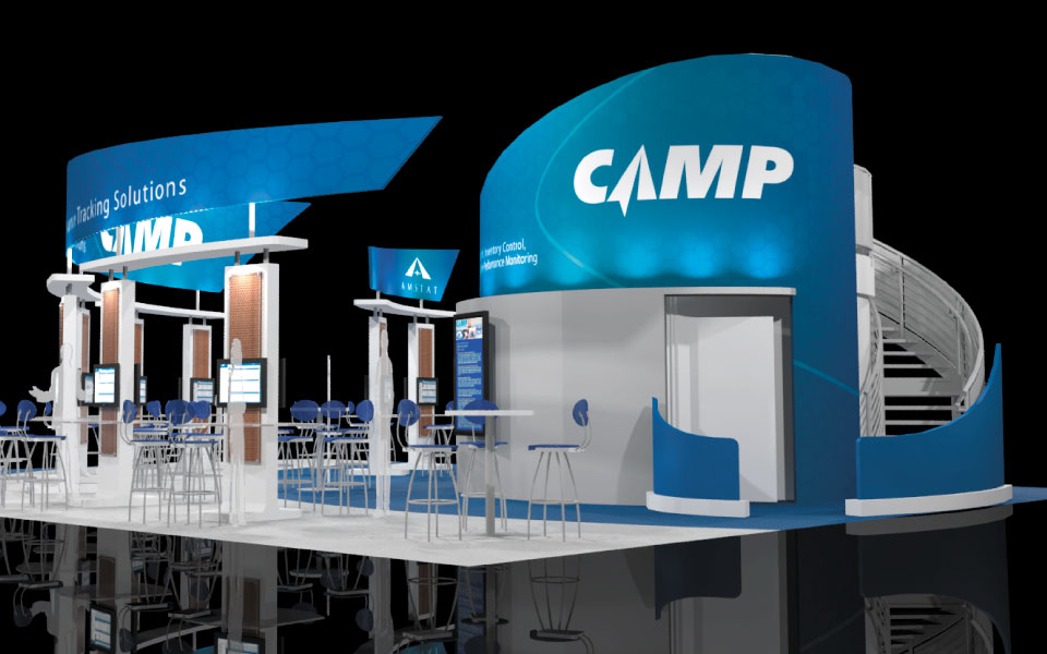 Custom Trade Show Fabric Structures | Camp | DisplayCraft