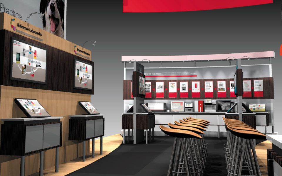 Interactive Trade Show Booth Design for IDEXX | DisplayCraft