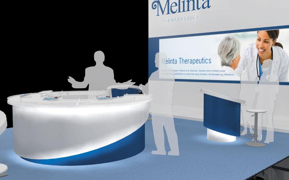 Melinta Booth Design Concept 2