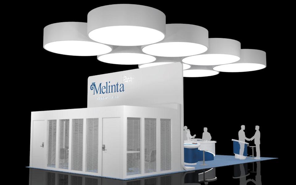 Melinta Booth Design Concept 3