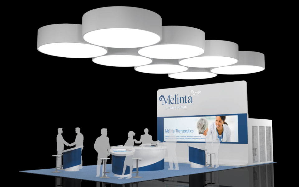 Exhibition Booth Concept : Booth design concept for pharmaceutical industry