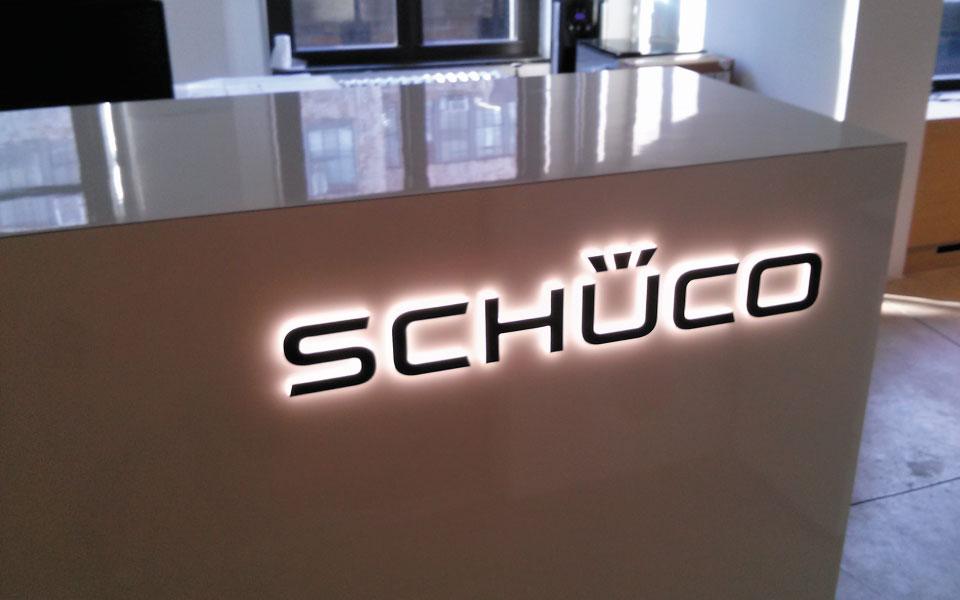 Schuco product showroom design view 3