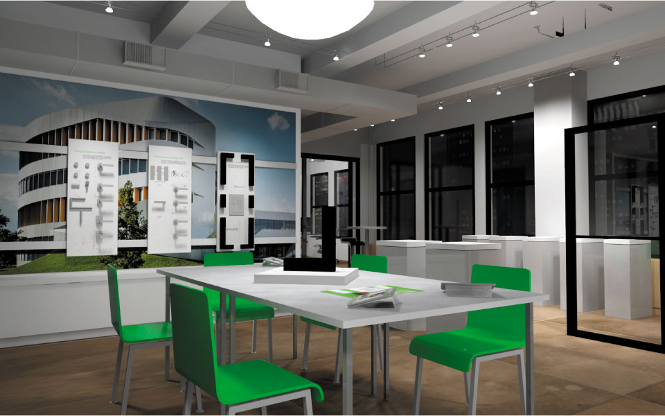Schuco Product Showroom Design