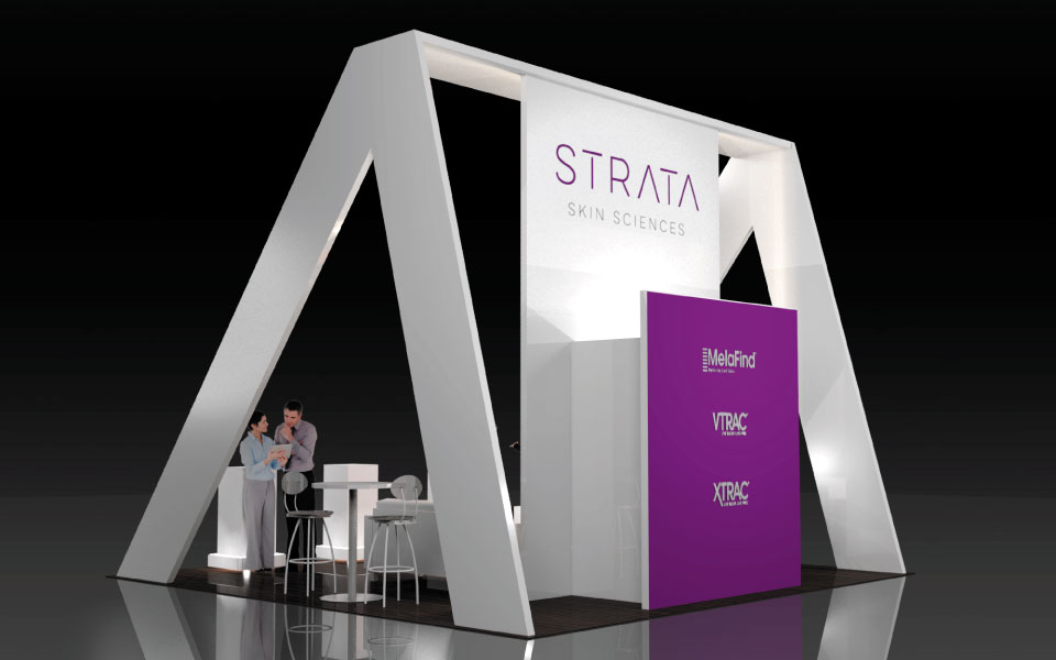 Simple Booth Design for Strata | DisplayCraft