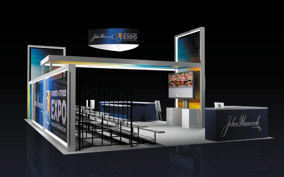 john hancock event booth design view 2