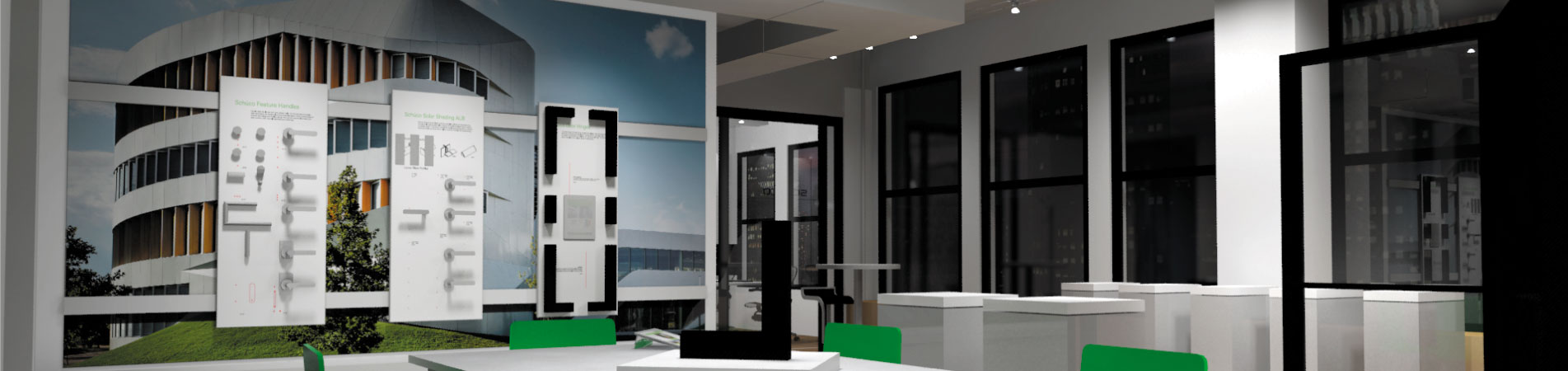 Corporate Environments - Training Rooms - Showrooms | DisplayCraft