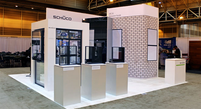 Sustainable Trade Show Exhibit Design   DisplayCraft