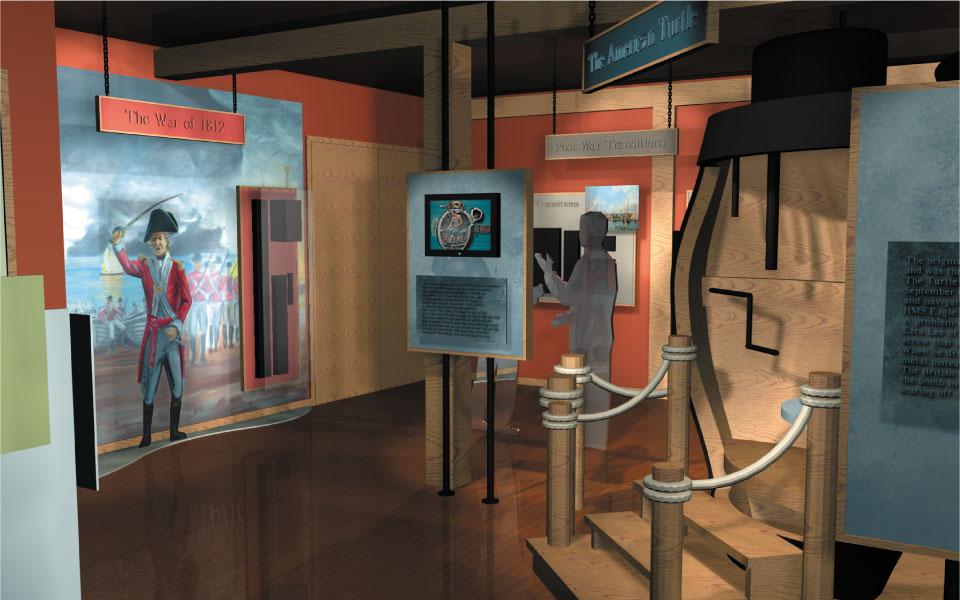 Museum Exhibit Design | Connecticut River Museum | DisplayCraft
