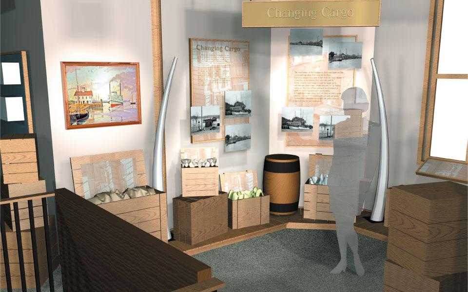 Museum Display Design | Connecticut River Museum | DisplayCraft