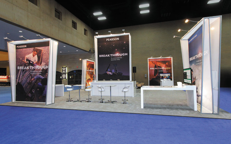 Pearson Exhibit Rental Solution | DisplayCraft
