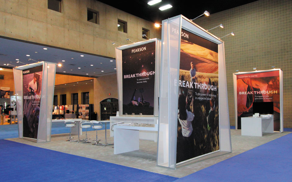 Pearson Rental Trade Show Booth | DisplayCraft