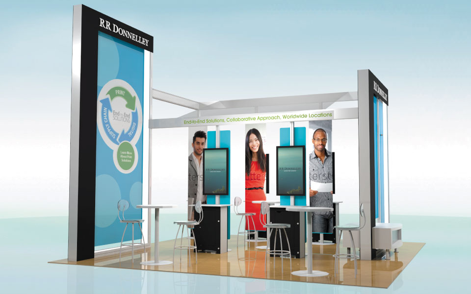Rental Trade Show Booth Solution | DisplayCraft
