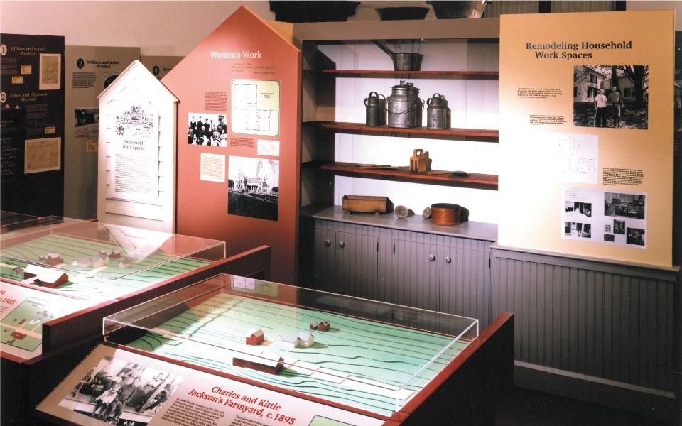 Museum Model Displays | Vermont Folklife Center | DisplayCraft