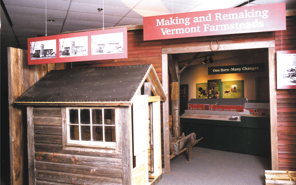 Traveling Museum Exhibit | Vermont Folklife Center | DisplayCraft