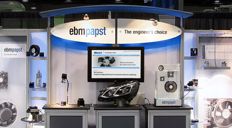 ebmpapst | Lightfair upgrades | DisplayCraft