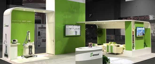 Sensus Healthcare Trade Show Booth | Mobile Home
