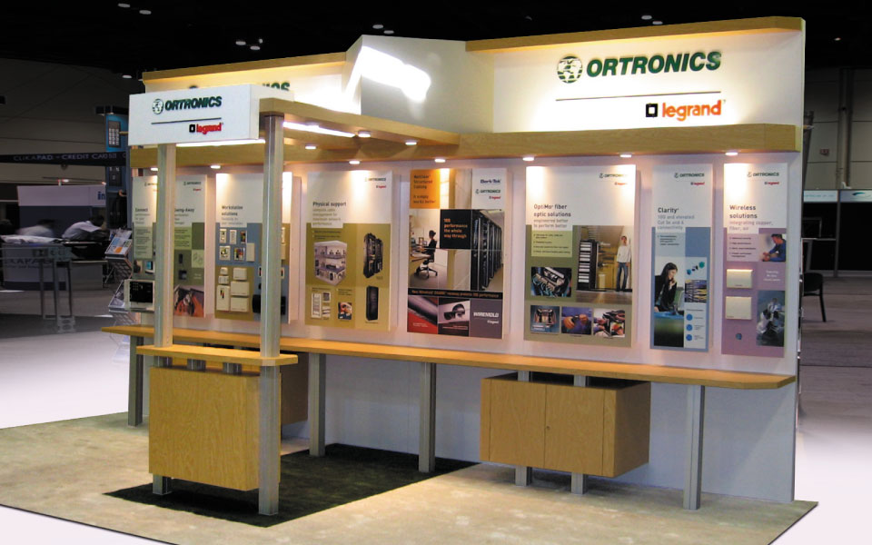 10x20 Trade Show Exhibit | Ortronics
