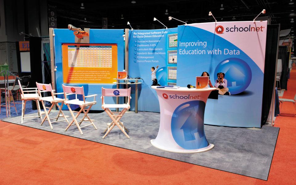 Lightweight Modular Booth | Schoolnet