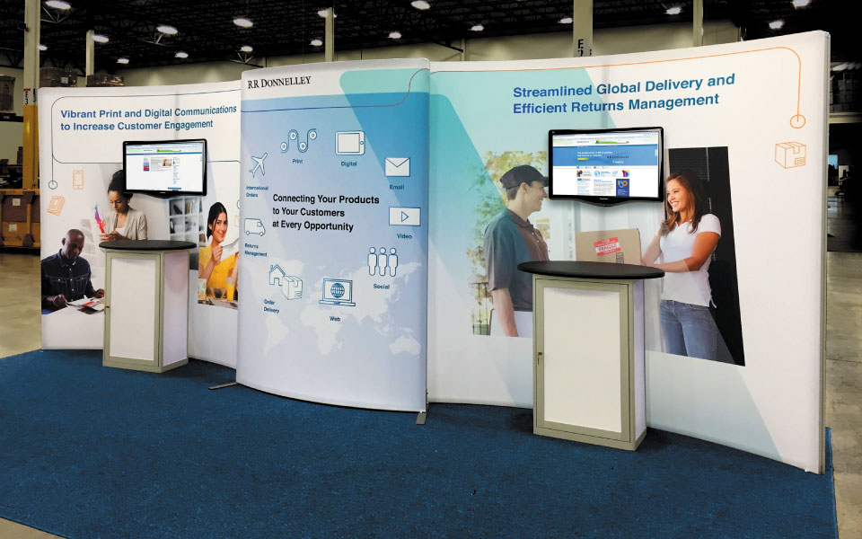 Lightweight Rental Booth | R.R. Donnelley