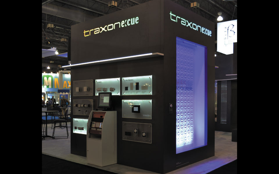 Traxon Trade Show Booth Lighting Display