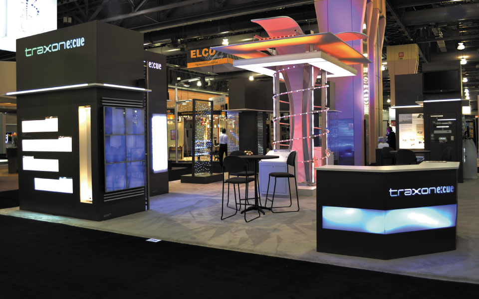 Trade Show Reception Desk | Traxon Technologies