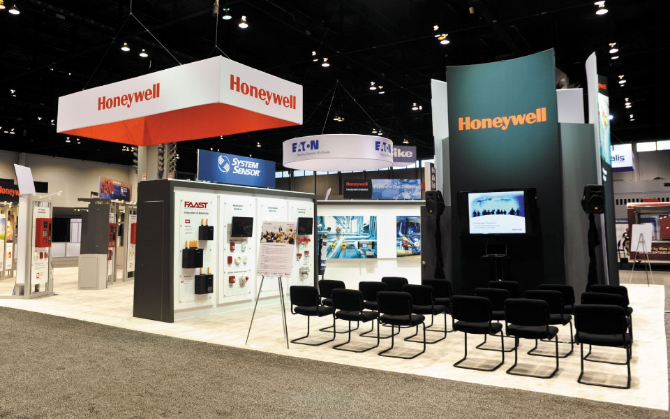 40x70 island exhibit view 3 | Honeywell
