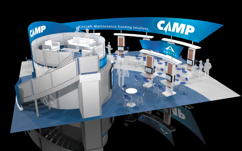 Fabric Structures for Custom Trade Show Booths | DisplayCraft