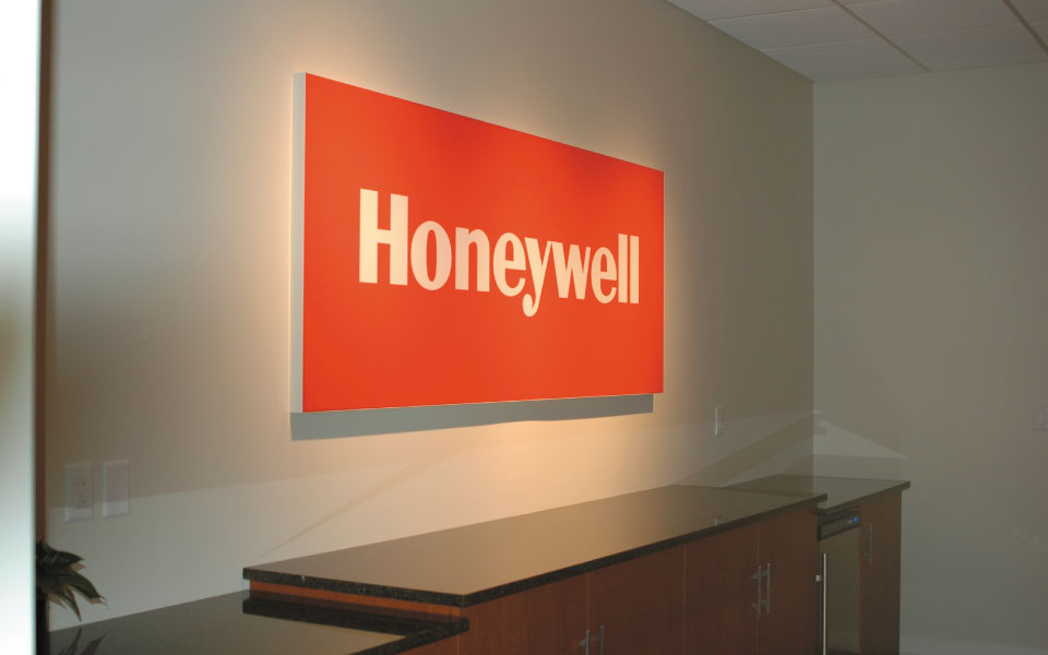 Honeywell Brand Experience Center | Tension Fabric Wall Display