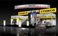 Indeco Double Deck Rental Booth