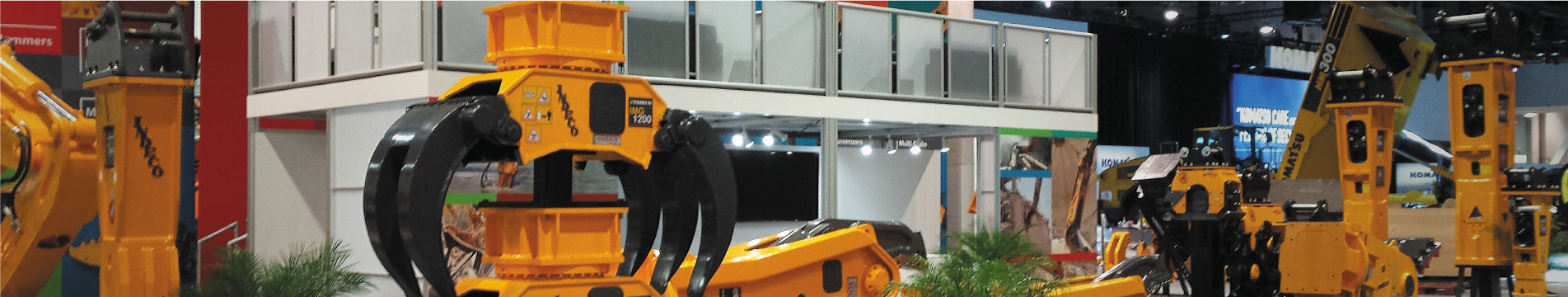 Double Deck Trade Show Booth Rentals for CONEXPO, Las Vegas | DisplayCraft