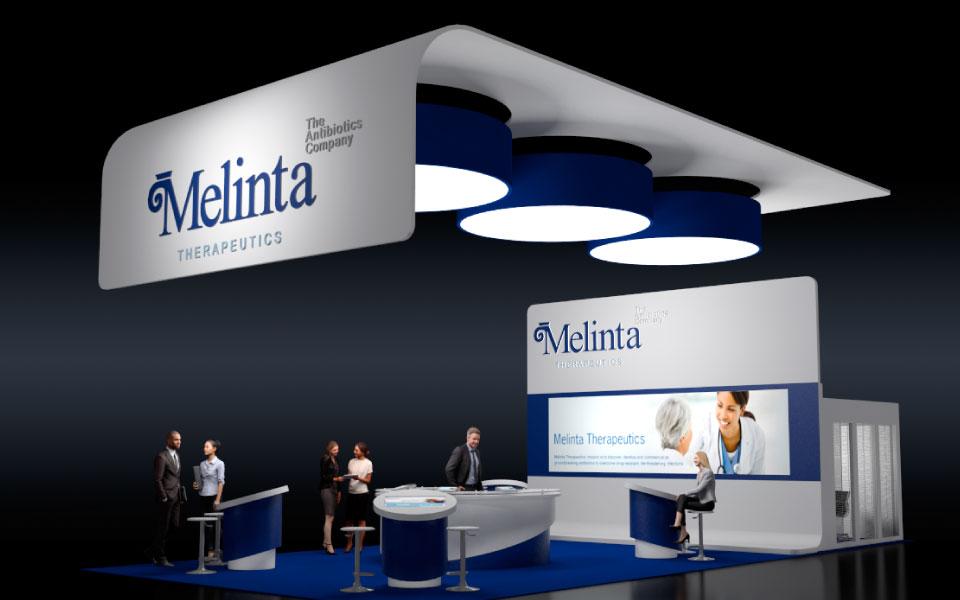 Melinta Booth Design Concept