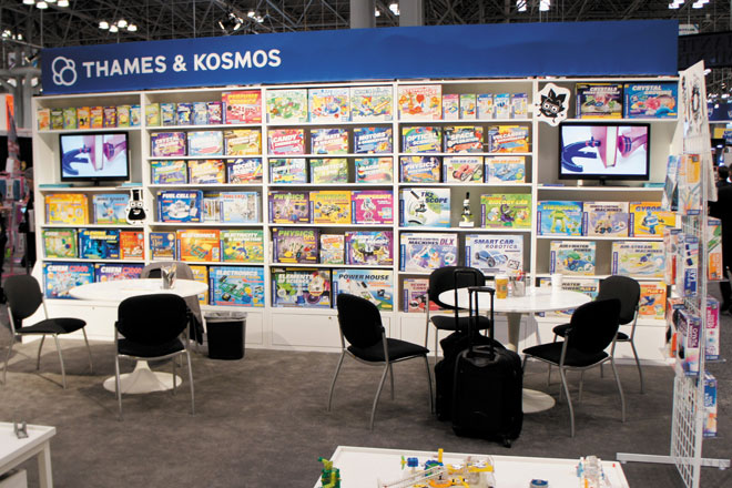Thames & Kosmos Trade Show Booth ToyFair11