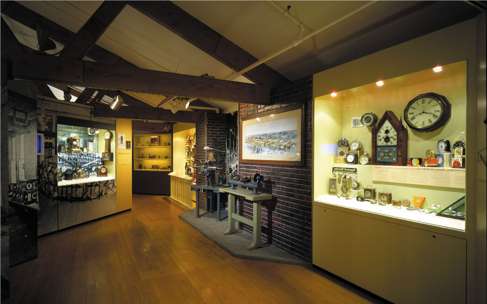 American Clock and Watch Museum | Wall Alcove Displays 2