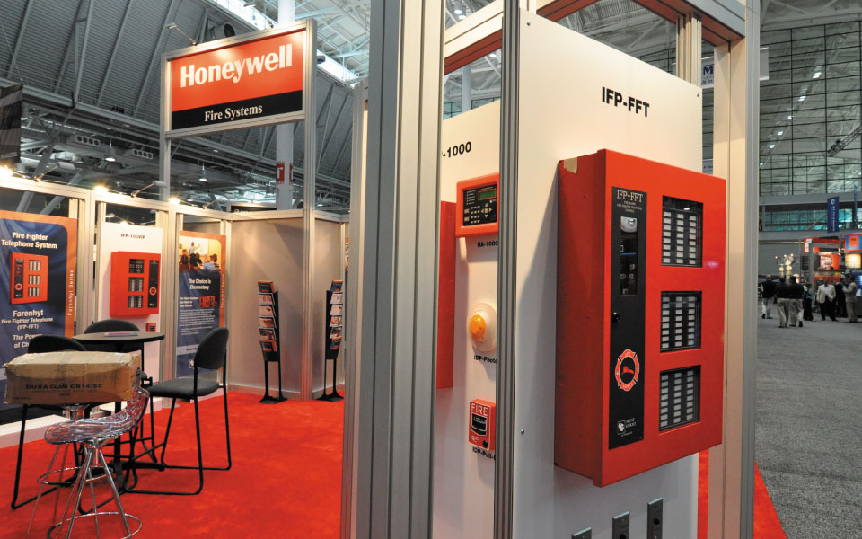 Honeywell Custom Booth Rental Product Display | DisplayCraft