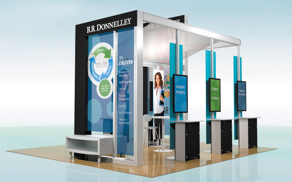 Rental Exhibit Solution for RR Donnelley | DisplayCraft