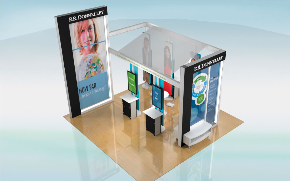Rental Trade Show Exhibit Design | DisplayCraft