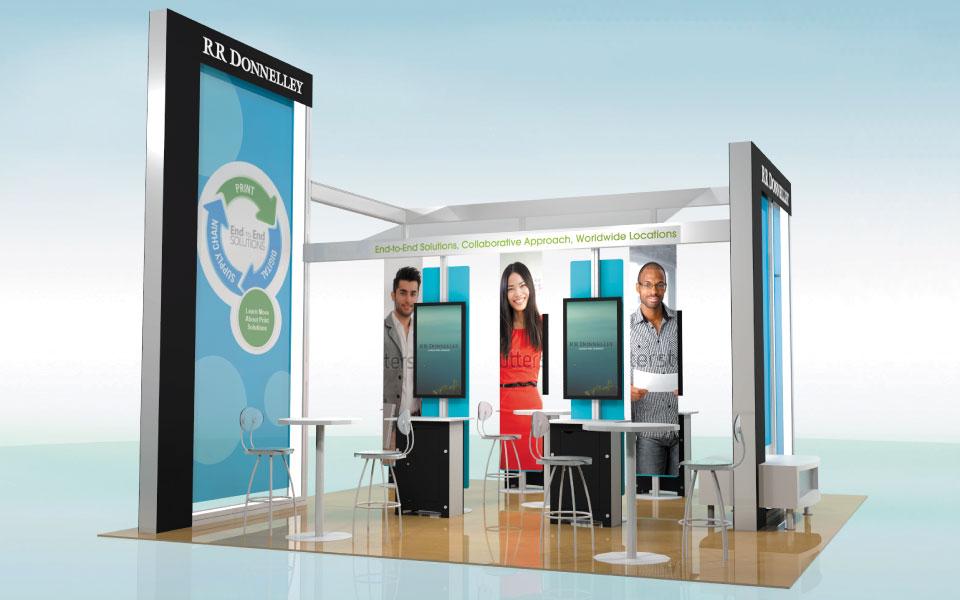 Rental Trade Show Booth Solution | DisplayCraft