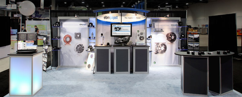 Trade show booth makeover | ebmpapst