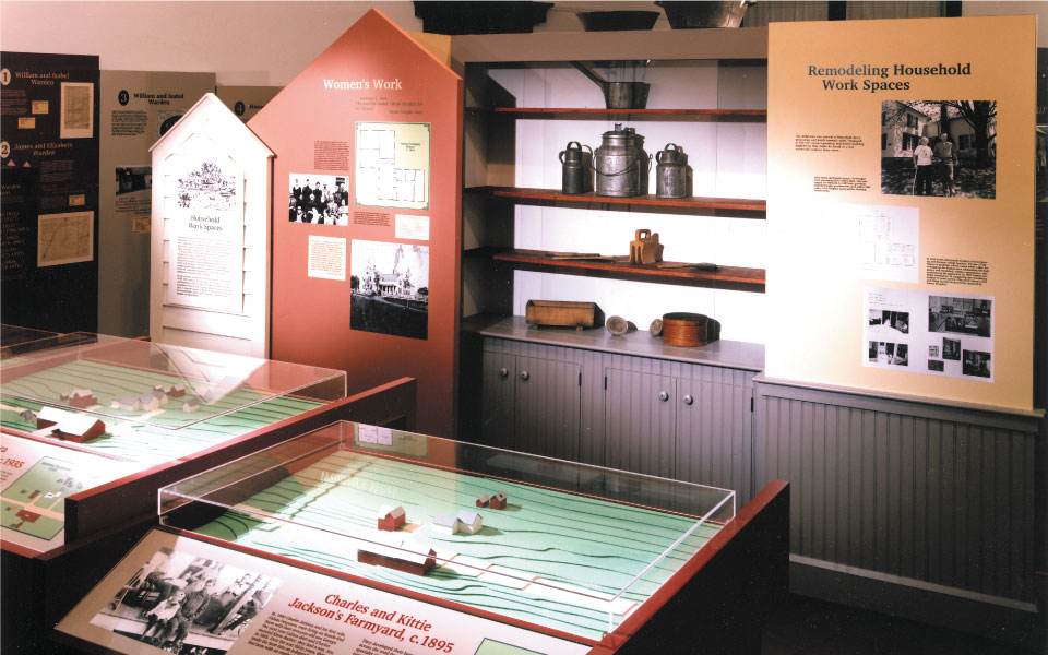 Museum Model Displays | Vermont Folklife Center | DisplayCraft