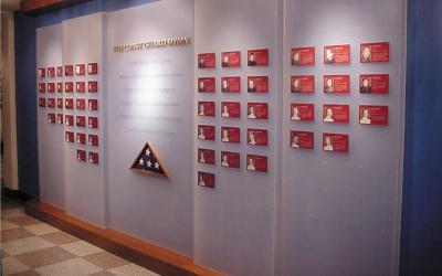 Wall of Heros Wall Display | US Coast Guard