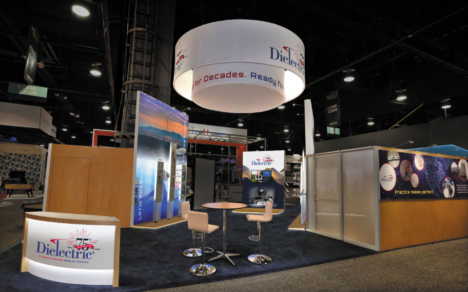 Custom Trade Show Exhibit | Dielectric