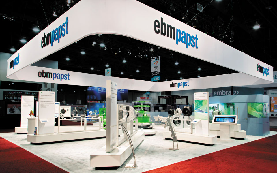Island Trade Show Display | ebm-papst