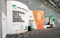 International Custom Rental Booth | Jacob's Vehicle Systems