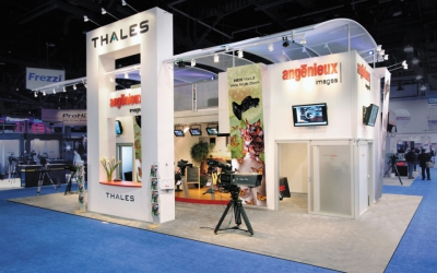 Trade Show Exhibits & Displays - Custom Booth Design