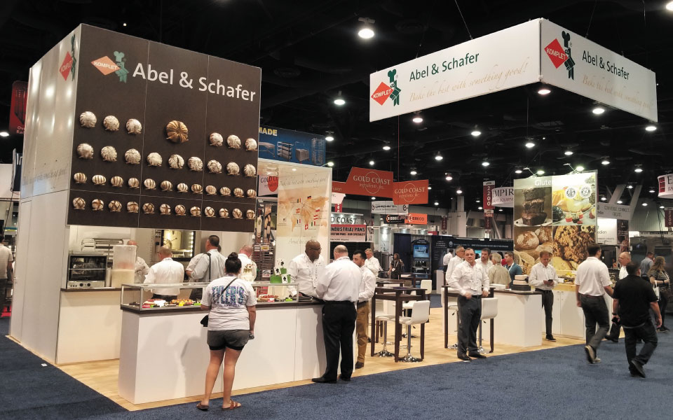 20×40 Island Rental Exhibit | Abel & Schafer